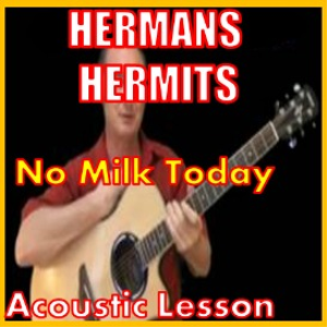 learn to play no milk today by hermans hermits