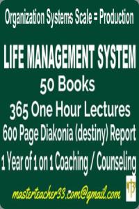 module 1.2 - love/light/life management system