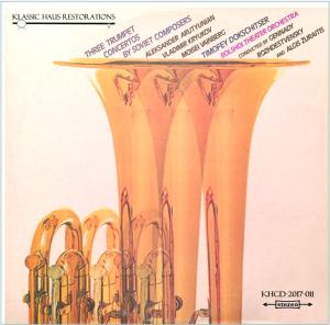 three trumpet concertos by soviet composers - timofey dokschitser, trumpet