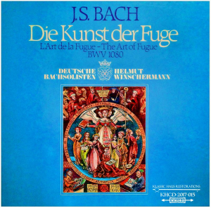 johann sebastian bach: die kunst der fuge (the art of the fugue) bwv 1080 - winschermann
