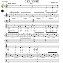 O Holy Night (Noël), Medium Voice in C Major (Mezzo/Tenor). A. Adam, J.S. Dwight. Digital score., A5 (landscape). With Piano Accompaniment with Vocal Melody Added Mp3 | eBooks | Sheet Music