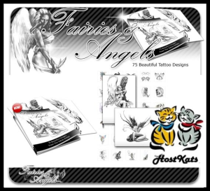 fairies and angels tattoos - 75+ rare and beautiful fairy and angel tattoos