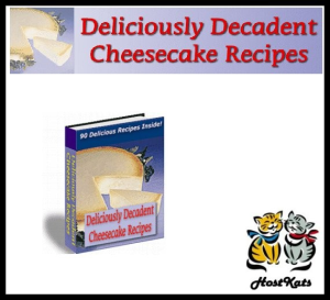 Deliciously Decadent Cheescake Recipes | eBooks | Food and Cooking