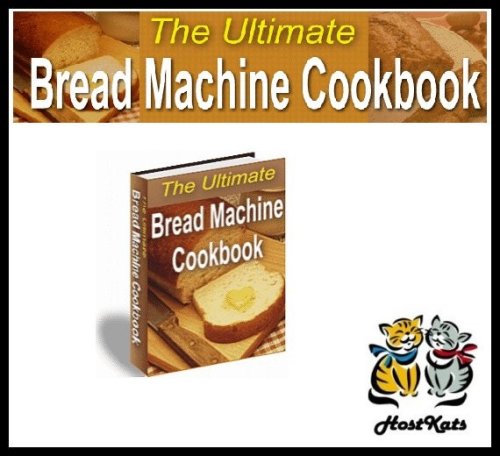 First Additional product image for - The Ultimate Bread Machine Cookbook Recipes