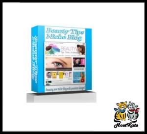 Beauty Tips Niche Blog | Software | Design Templates