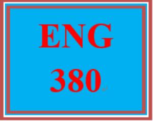 ENG 380 Week 1 Language and Linguistics Worksheet | eBooks | Education