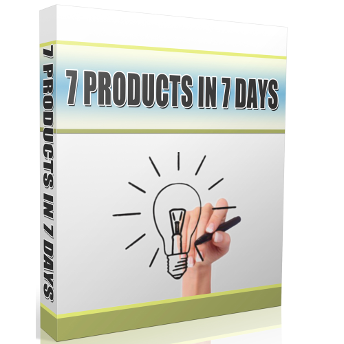 First Additional product image for - 7 Products In 7 Days
