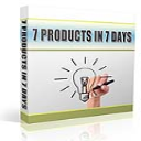 7 Products In 7 Days | eBooks | Internet