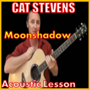 learn to play moonshadow by cat stevens