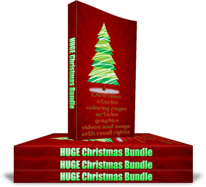 huge holiday bundle, articles, ebooks, activities, resell rights