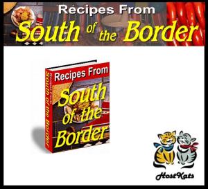 mexican recipes plr ebook – south of the border recipes