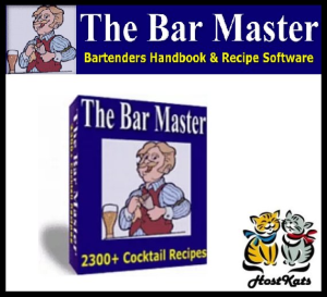 the bar master - over 2300 of the most popular cocktail recipes.