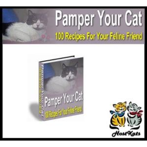 Pamper Your Cat - 100 Cat Recipes | eBooks | Pets