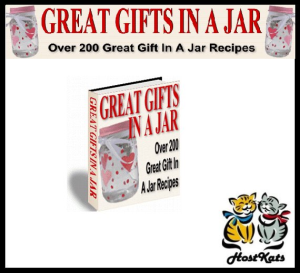 great gifts in a jar - 200 recipes for gift jars