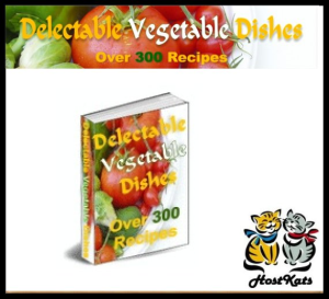 300+ delectable vegetable dishes