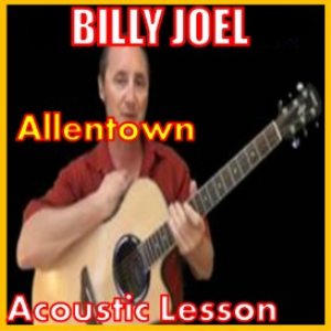 learn to play allentown by billy joel