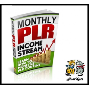 Monthly PLR Income Stream | eBooks | Other