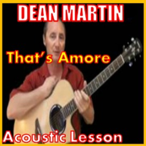 learn to play that's amore by dean martin