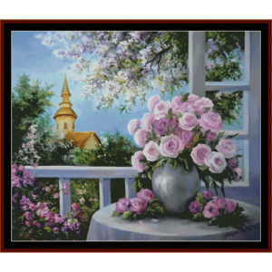 still life - custom pattern by cross stitch collectibles