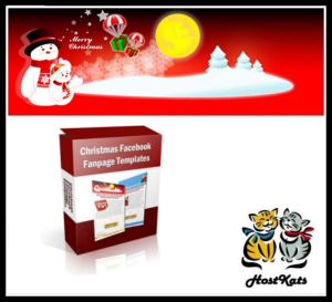 christmas facebook fanpage templates
