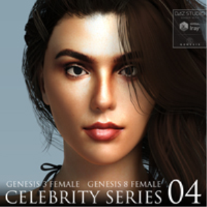 Celebrity Series 04 for Genesis 3 and Genesis 8 Female | Software | Design