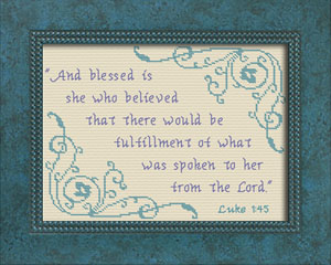 Blessed is She | Crafting | Cross-Stitch | Other