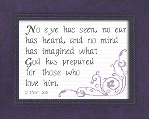 God Has Prepared | Crafting | Cross-Stitch | Religious