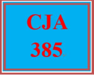 CJA 385 Week 4 Alternative Solution Proposal | eBooks | Education