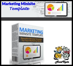 Marketing Minisite Template V15 | Software | Design Templates