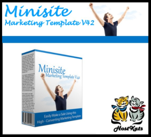 Minisite Marketing Template V42 | Software | Design Templates