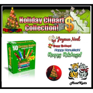 Holiday Clipart Collection | Software | Design Templates