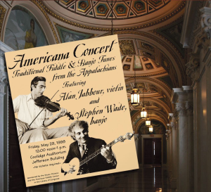 "Patuxent CD-308  Alan Jabbour & Stephen Wade at the Library of Congress  ""Americana Concert"" 