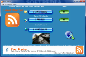 I Will Give You feed blaster software | Software | Internet