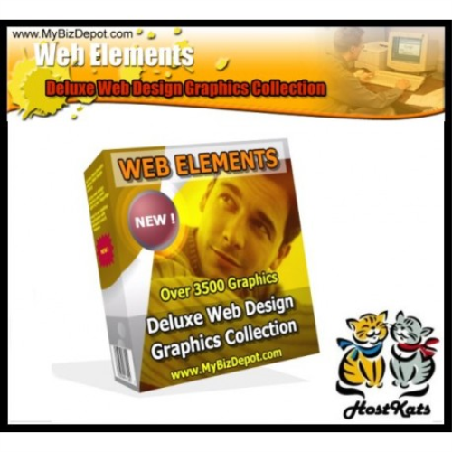 First Additional product image for - Web Elements Deluxe Web Design Graphics Collection