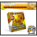 Web Elements Deluxe Web Design Graphics Collection | Software | Design Templates