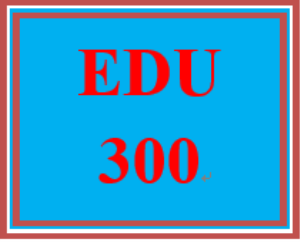 EDU 300 Discussion Question on COE Resources | eBooks | Computers