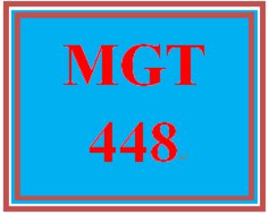 MGT 448 Week 1 Globalization | eBooks | Education
