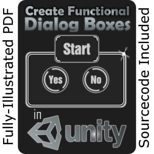 unity training:  create functional dialog boxes (complete project)