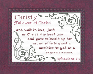 name blessings - christy 3
