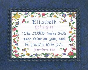 name blessings - elizabeth 6