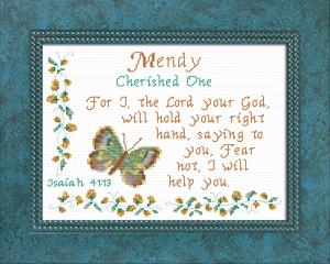 name blessings - mendy