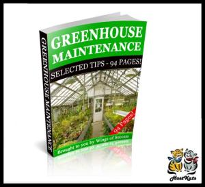 Greenhouse Maintenance   eBooks   Reference