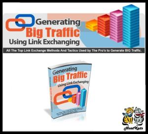 generating big traffic using link exchanging