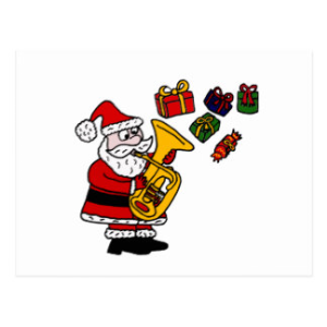 santa wants a tuba for christmas – custom arranged for piano, vocal (rhythm) and tuba solo