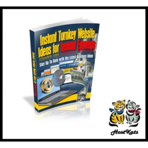 Instant Turnkey Website Ideas For Instant Earnings | eBooks | Business and Money