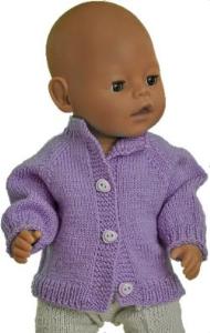 dollknittingpatterns - 2017d weihnachtsgruss - ein einfacher cardigan-(deutsch)