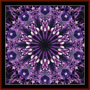 Fractal 653 cross stitch pattern by Cross Stitch Collectibles | Crafting | Cross-Stitch | Wall Hangings
