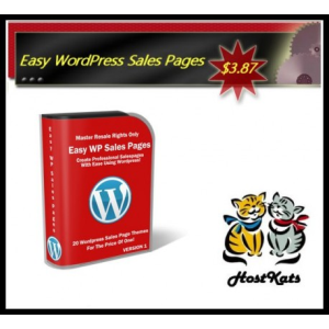 Easy WordPress Sales Pages | Software | Design Templates