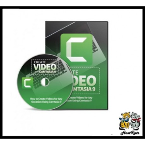 Learn How to Create Video's with Camtasia 9 -Training Video | Software | Design Templates