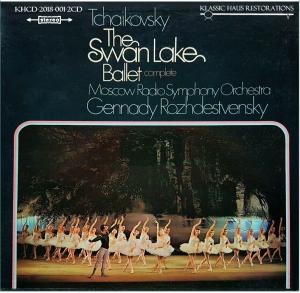 tchaikovsky: swan lake, op. 20 - complete ballet - rozhdestvensky